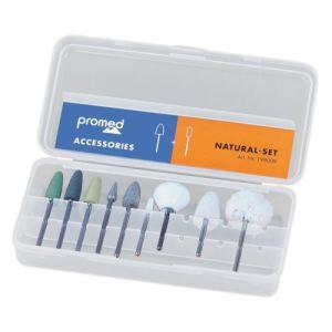 Promed Natural set 198009 - Set accessoires pour appareil manucure pédicure