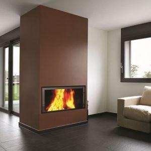 Termofoc C1000ES - Insert à bois 15 kw + Kit de ventilation pour insert C1000ES