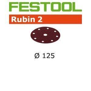 Festool 499097 - Abrasifs Stf D125/90 P120 Ru2/50