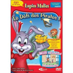 Lapin Malin CE1 : Le défi des pirates ! - 2007 / 2008 [Windows, Mac OS]