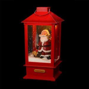 Automate Père Noël Marius rouge