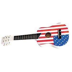 New Classic Toys 0308 - Guitare de luxe Drapeau USA