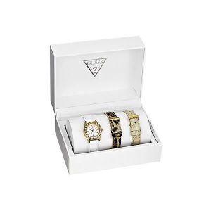 Guess W13103L1 - Coffret montre pour femme avec 3 bracelets