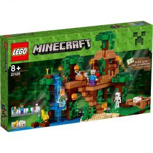 Lego 21125 - Minecraft : la cabane dans l'arbre de la jungle