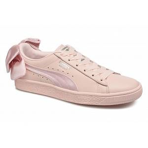 Puma Basket Bow Wn's, Sneakers Basses Femme, Rose (Pearl-Pearl), 40 EU
