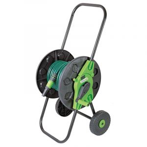 Heliotrade Devidoir de tuyau de jardin sur roue avec 20m de tuyau