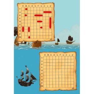 Djeco Mini logix Bataille navale