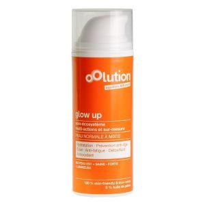 Oolution Glow up 50 ml - Soin visage hydratant pour peaux normales à mixtes