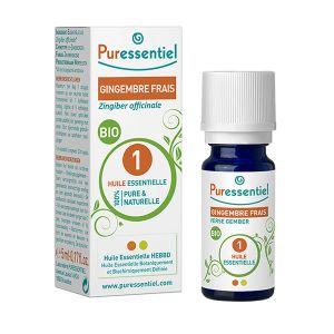 Puressentiel Huile essentielle gingembre bio, 5 ml