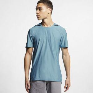 Nike Haut de training à manches courtes Dri-FIT Tech Pack pour Homme - Bleu - Taille M