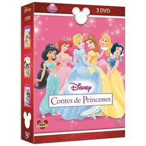 Coffret Contes de Princesses - Un cadeau qui vient du coeur + L'amitié + La beauté vient de l'intérieur