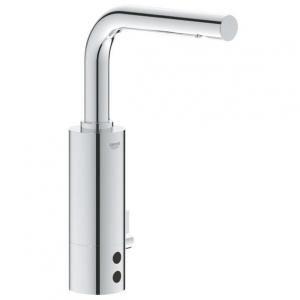 Robinetterie de lavabo Essence E électronique à infra-rouge alimentation 230 V avec transformateur