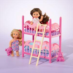 Simba Toys Evi Love Lits superposés avec 2 poupées