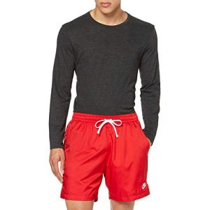 Nike M NSW CE Short WVN Flow Sport Homme, University Red/(White), FR (Taille Fabricant : XL)