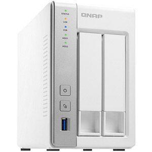 Qnap TS-231P - Serveur NAS 2 Baies SATA III RAID Gigabit Ethernet