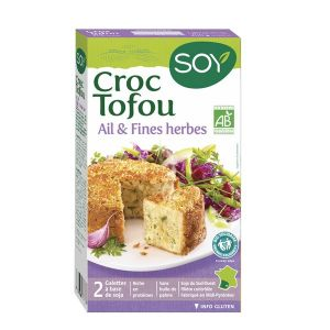 Soy Croque tofu ail & fines herbes 2x100g
