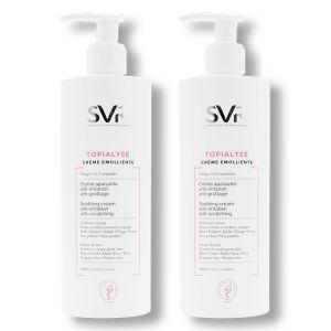 Laboratoires SVR Topialyse crème émolliente 2 x 400 ml