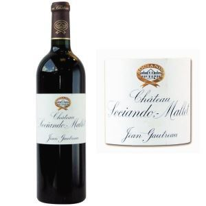 Image de Jean Gautreau Château Sociando Mallet 2011 - Vin rouge de Bordeaux (Haut Médoc)