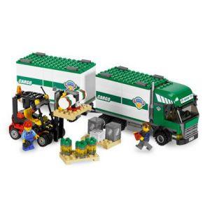 Lego 7733 - City : Camion et son chariot élévateur