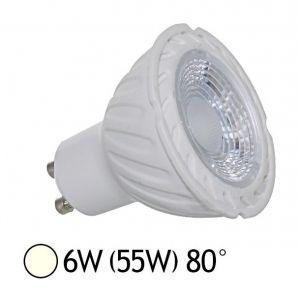 Vision-El Spot led GU10 COB 6 watt (eq. 55 watt) - Couleur eclairage - Blanc neutre -