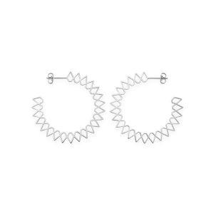 Rosefield Boucles d'oreilles JSPHS-J064 - Collection IGGY Anneaux Spike Laiton