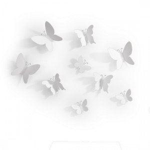 Umbra Décoration murale Papillons Mariposa