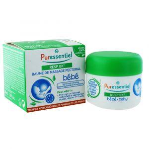 Puressentiel Resp ok - Baume de massage pectoral enfant