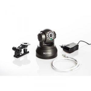 Rotro C1 - Caméra de surveillance d'intérieur IP WiFi sans fil