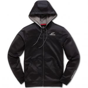 Alpinestars Sweat zip à capuche Freeride noir - M