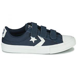 Converse Chaussures enfant STAR PLAYER 3V RIPSTOP - Couleur 36,37,38,27,28,29,30,31,32,33,34,35,37 1/2,33 1/2 - Taille Bleu