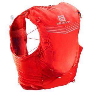 Salomon Sacs à dos Adv Skin 12 Set - Fiery Red - Taille S