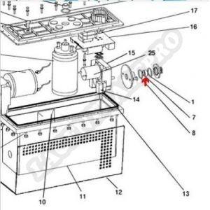 Procopi 1013071 - Joint spi 6 mm de moteur Patriote (6x16x7 mm)