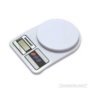 Silverline 651052 - Balance numérique 5 kg max