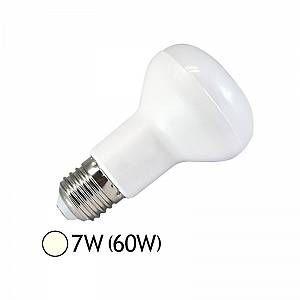 Vision-El Ampoule Led 7W (60W) E27 Spot opaque R63 Blanc jour 4000°K