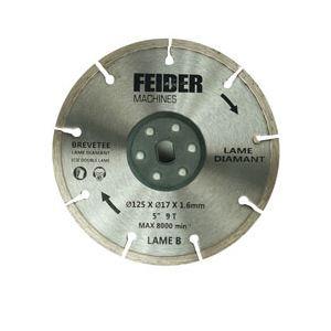 Feider FDL125 - Lame diamant 125 mm