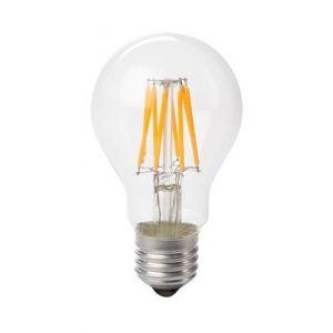Perel Ampoule à filament LED forme de poire 8W E27 blanc chaud