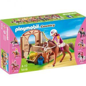 Playmobil 5518 Country - Cheval Shagya et cavalière