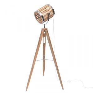 SPOT - Lampadaire avec pieds en bois