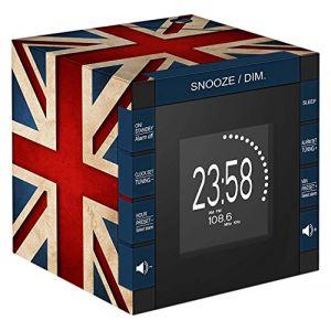 Bigben RR70 - Radio réveil cube projecteur décor