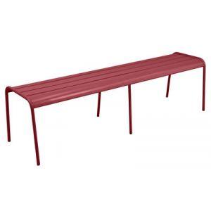 Fermob Monceau XL - Banc de jardin 3/4 places en acier 160 cm