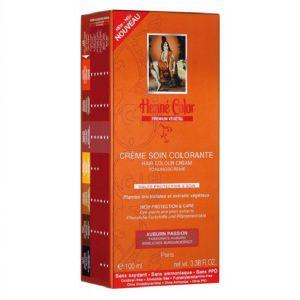 Henné Color Auburn Insolent - Crème soin colorante