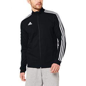Adidas TIRO19 TR JKT Veste Homme, Noir/Blanc, FR : S