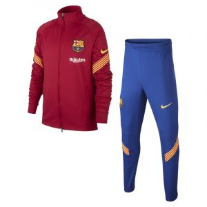 Nike Survêtement FC Barcelone 20202021 Dry Strike Rouge - Taille 10 Ans