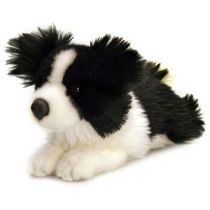 Keel Toys Peluche Chien Border Collie 25 cm
