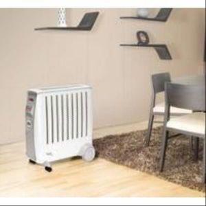 Ewt CDE2ECC - Radiateur électrique 2000 Watts à inertie chaleur douce