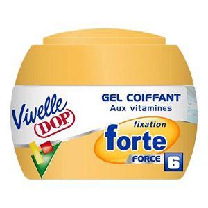 Vivelle Dop Fixation Forte - Gel coiffant Force 6