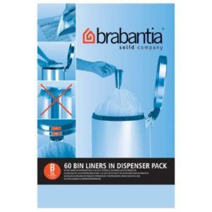 Brabantia Sac de poubelle avec poignées coulissantes (5 L)