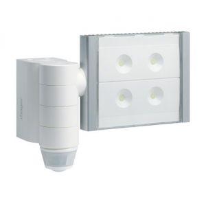 Hager Projecteur LED détecteur de mouvement Infra-rouge 220/360 blanc radio QL TRE600