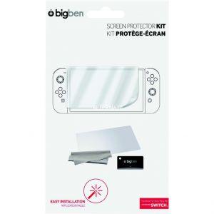 Bigben Kit Protection Ecran pour Console Nintendo Switch