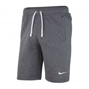 Nike Team Club 19 Short Homme, Charcoal Heather/Anthracite White, XL